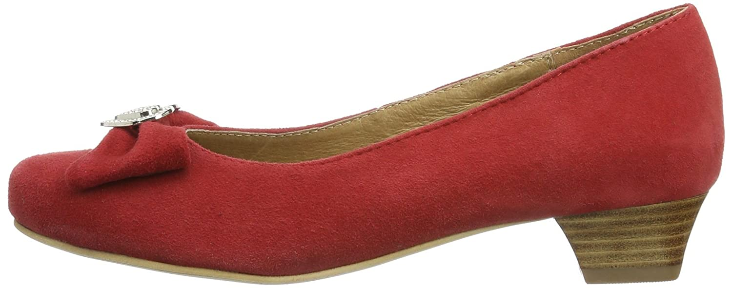 Hirschkogel by Andrea Andrea Andrea Conti 3596404 Damen Pumps Rot (Rot 021) 8e2be0