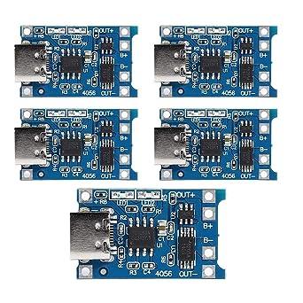 Asiproperuk TP4056 - Placa de módulo de cargador de batería ...