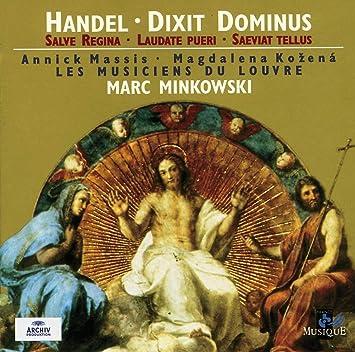 Handel: Dixit Dominus; Salve Regina; Laudate Pueri; Saeviat Tellus: Annick Massis: Amazon.es: Música