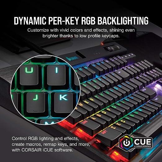 CORSAIR K70 RGB MK 2 Low Profile Mechanical Gaming Keyboard RGB Keyboard