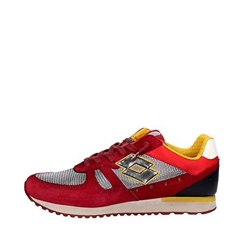 Tokyo 43 Shibuya Sneakers Lotto Uomo Basse Scarpe Rosso S8836 Taglia YO8wvwXq