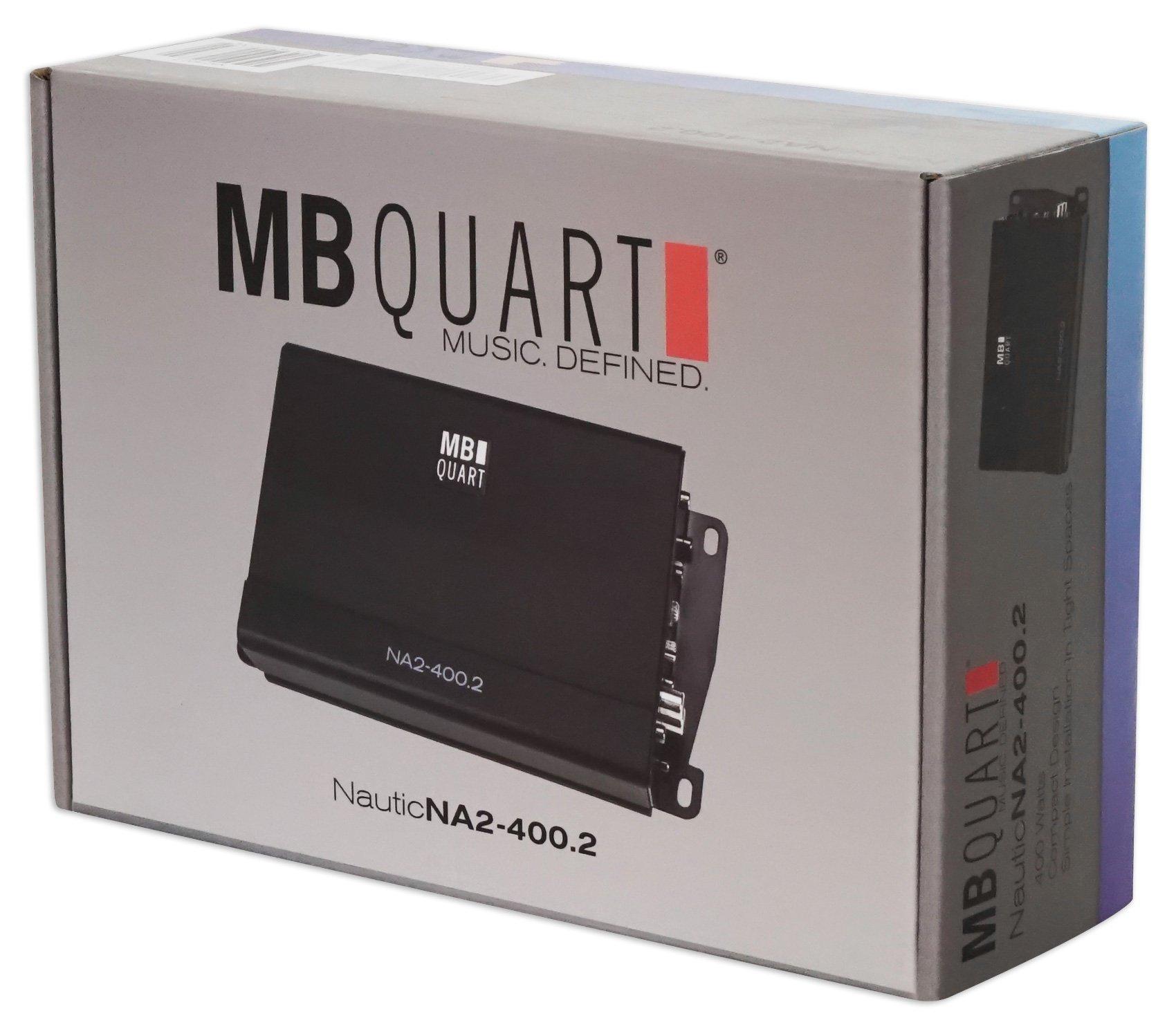 MB QUART NA2-400.2 400w 2-Channel Amplifier Amp For Polaris/ATV/UTV/RZR/CART by MB Quart (Image #9)
