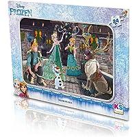KS Games Frozen 24 Parçalı Yapbozlu Çerçeve