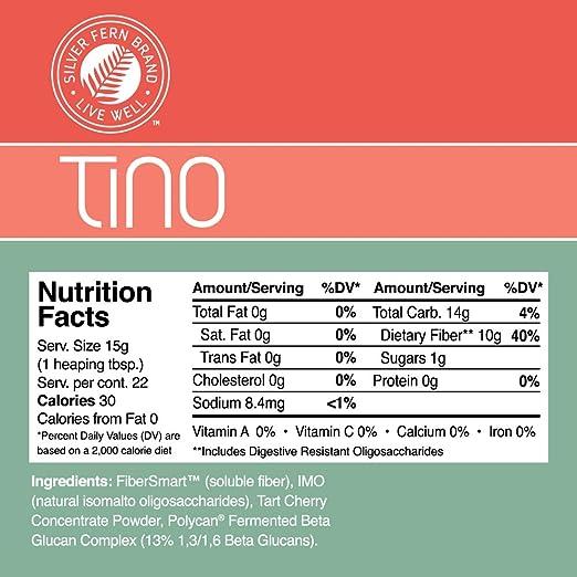 Amazon.com: Tino - Suplemento en polvo de alta fibra, no OMG ...