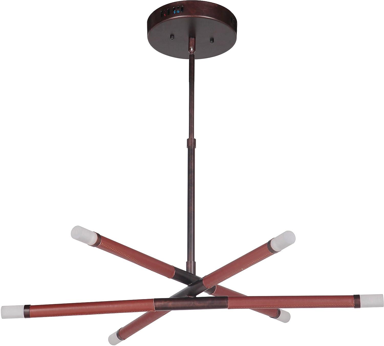 Amazon.com: Craftmade 48926-AC-LED - Lámpara de techo (6 ...