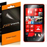 [6-Pack] Supershieldz- High Definition Clear Screen Protector For Nokia Lumia 820 + Lifetime Replacements Warranty [6-PACK] - Retail Packaging