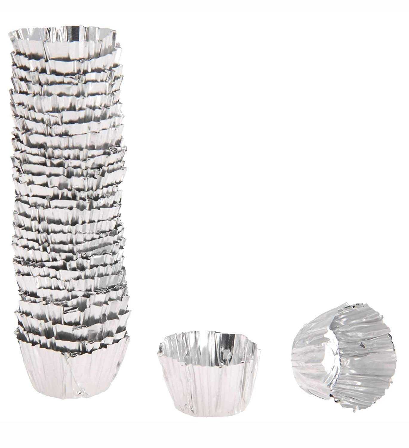 Aluminium Bougeoir Bougie Cire : Protection d'écran Cups EG Homeware