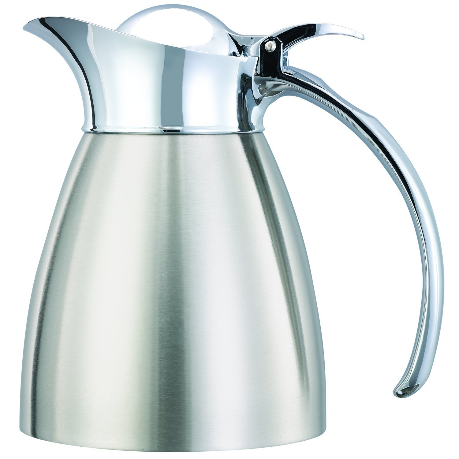 Service Ideas 98203BS Carafe, Stainless Steel Lined, Brushed Exterior, 0.3 L