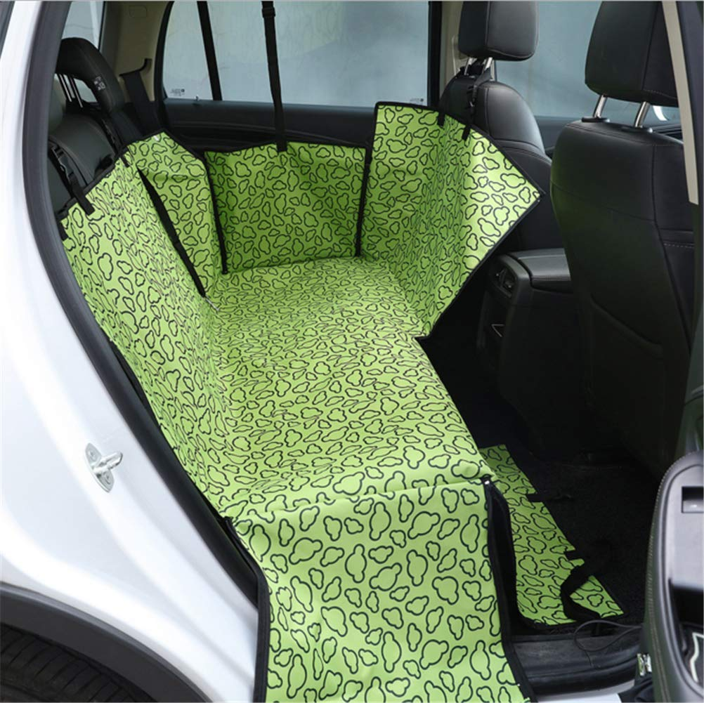 12 Luxury car seat Cover Rear seat Hammock (for Large and Small Dogs), Easy to Install, Easy to Clean, Waterproof, Non-Slip Design, Worry-Free Travel