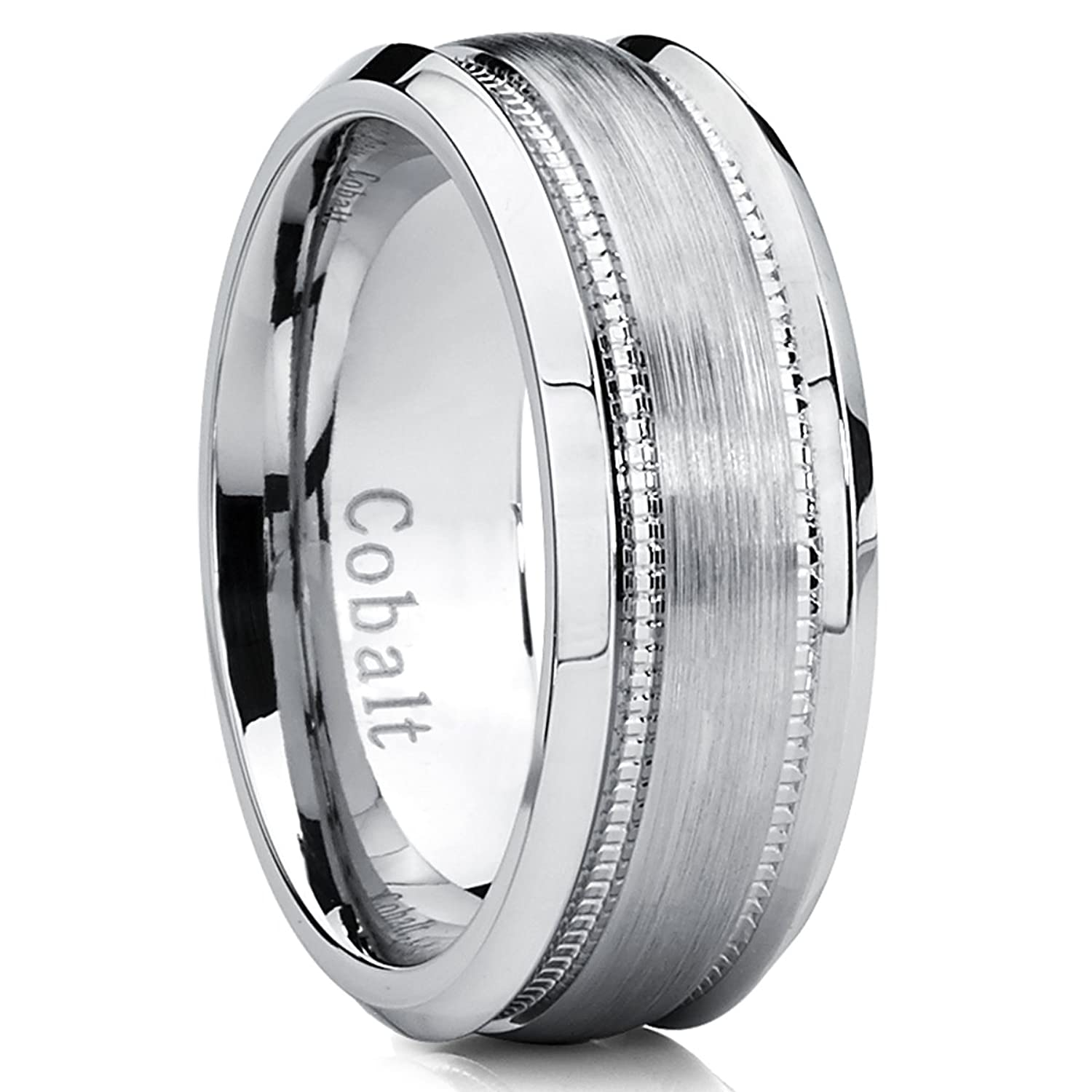 wedding with designer band from view s men grooves cobalt rings ring mens p chrome blackened just benchmark quick