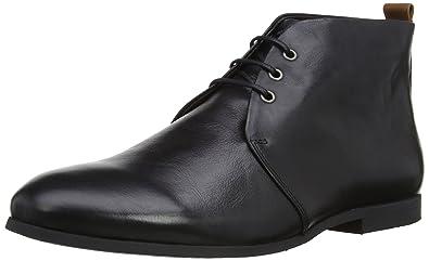 Royal RepubliQ Mens Cast Derby Midcut Sole Noos Desert Boots  101221-145-1001 Black