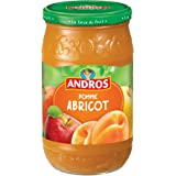 ANDROS Pomme Abricot 750 g - Lot de 3