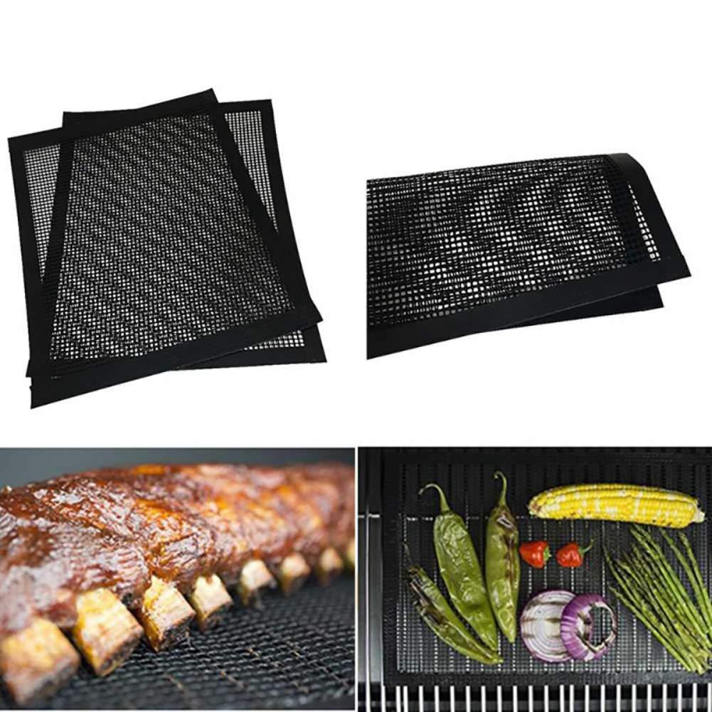 per Grigliare e cuocere 260 ℃ Mimiga Grill Mat Grilling Mesh Resistente al Calore Fino a 500F