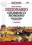 Dizionario Giuridico Romano (I dizionari)