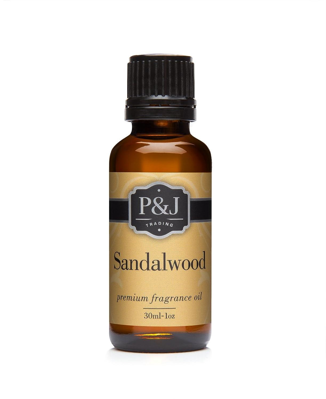 P&J Trading Sandalwood Premium Grade Fragrance Oil - Perfume Oil - 30ml/1oz