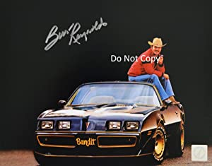 Burt Reynolds reprint signed autographed Smokey & The Bandit 11x14 poster photo #2