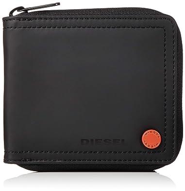 ddd33fc739ef Amazon   (ディーゼル) DIESEL メンズ 財布 二つ折り X06132P1705 UNI ...