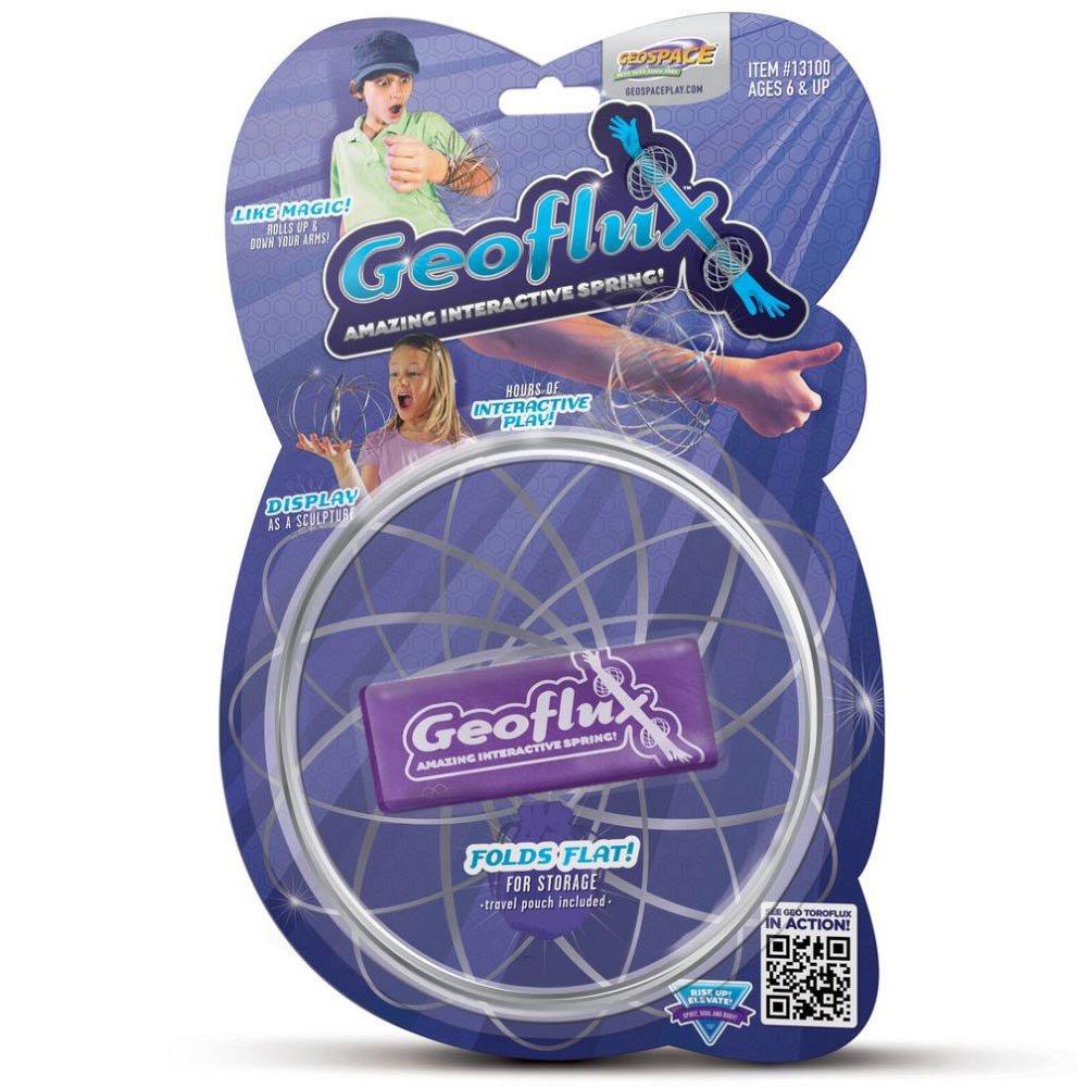 GeoFlux Mesmerizing 3-D Kinetic Sculpture & Interactive Spring Toy by GeoSpace B00KK0MRLA