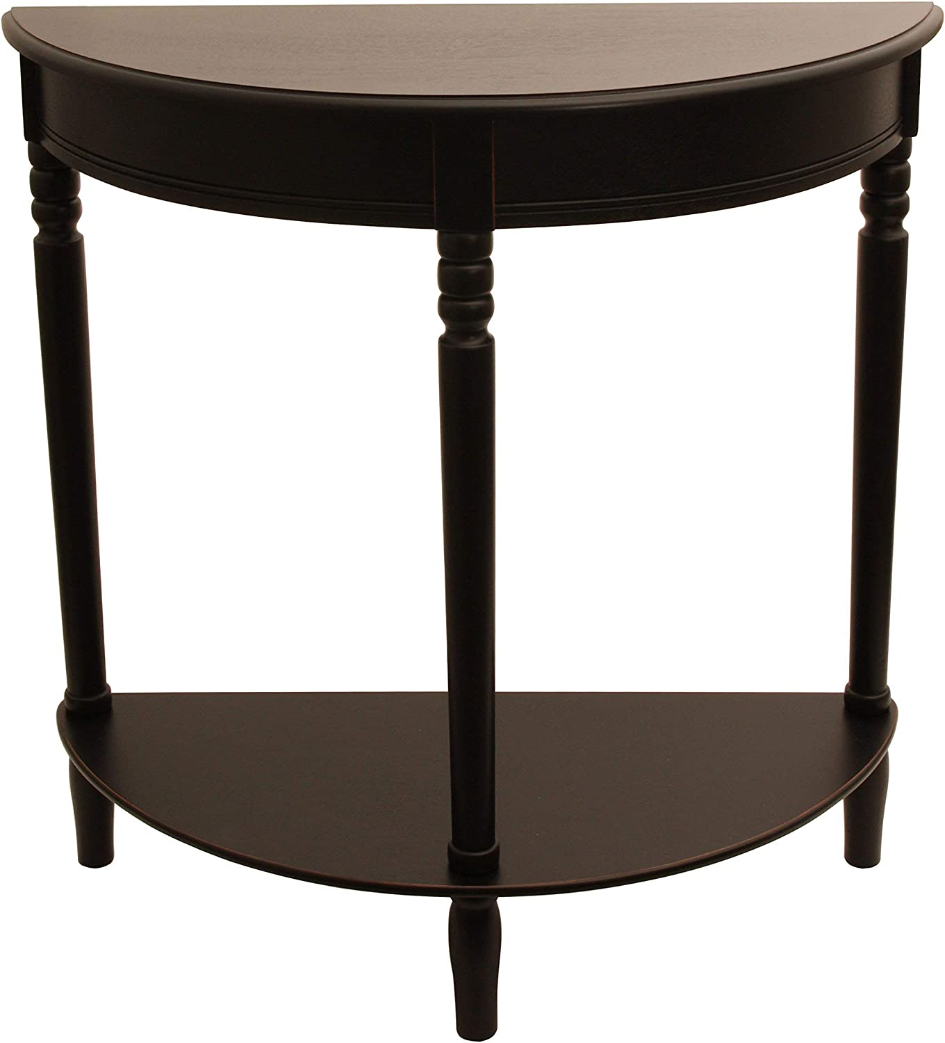 Décor Therapy Fr1799 End Table, Eased Edge Black