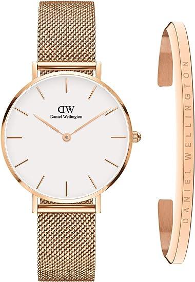 Daniel Wellington Rose Gold Watch with Classic Bracelet watch for women