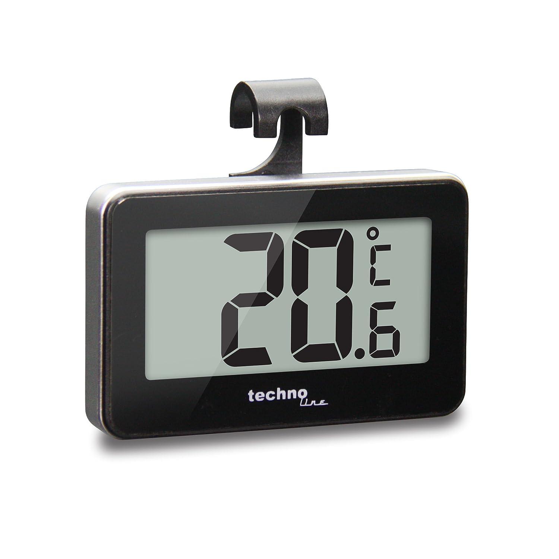 Technoline WS 7012 - Termómetro para nevera, color negro y ...