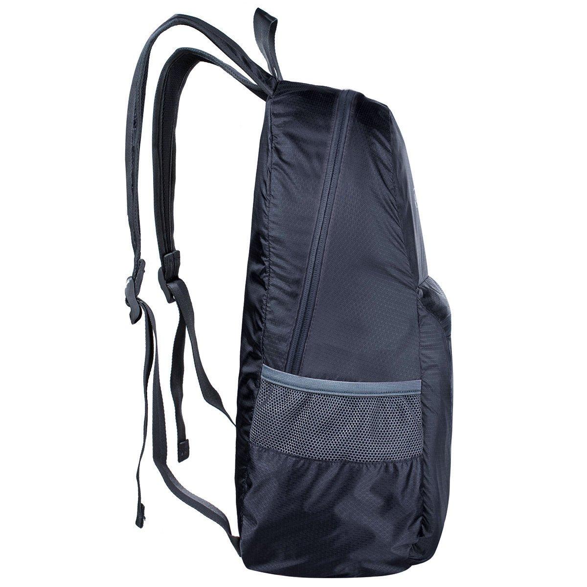 G4Free 25L Faltbarer Rucksack Ultraleicht Rucksack Daypack f/ür M/änner Frauen und Kinder f/ür Outdoor Wandern Camping Reisen