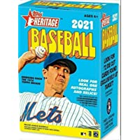 $39 » 2021 Topps Heritage Baseball Blaster Box