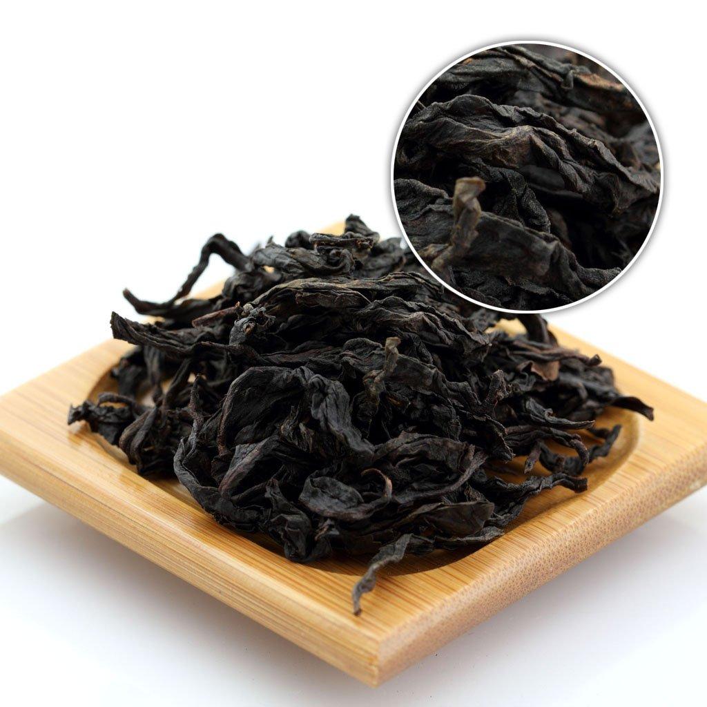 GOARTEA 500g (17.6 Oz) Organic Premium Da Hong Pao Dahongpao Big Red Robe Wuyi Mountain Chinese Oolong Tea