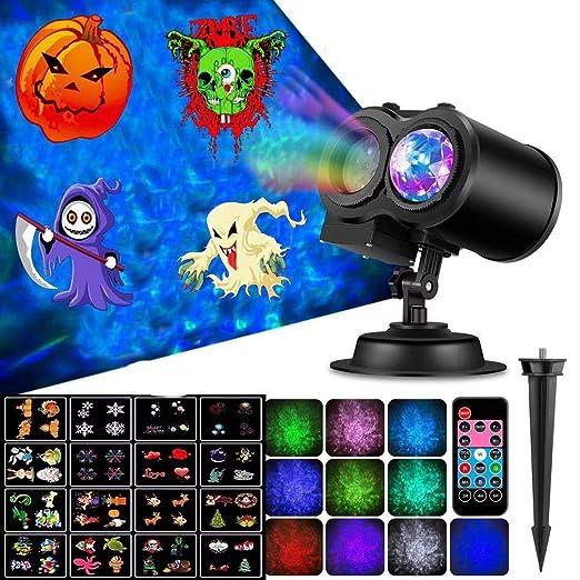Luces de Navidad para proyectores de vacaciones, proyector de luz ...