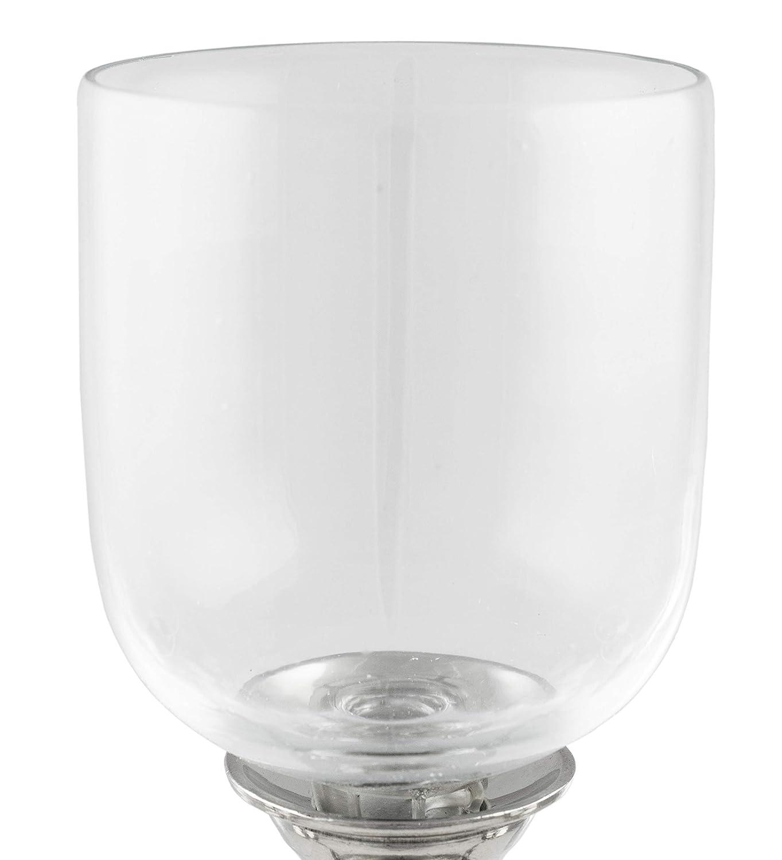 Brubaker 5 bocce in vetro per candelabri