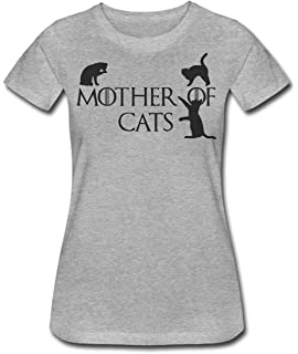 Finest Prints Mother of Cats Camiseta para Mujer: Amazon.es ...