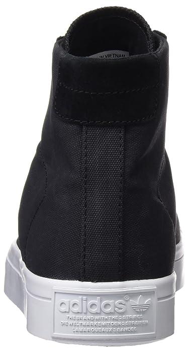 Adidas Courtvantage Mid, Zapatillas para Mujer, Negro (Core Black/Core Black/FTWR White), 36 EU adidas