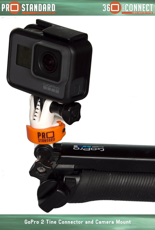 4 Piece 360 Quick Connect GoPro Bundle