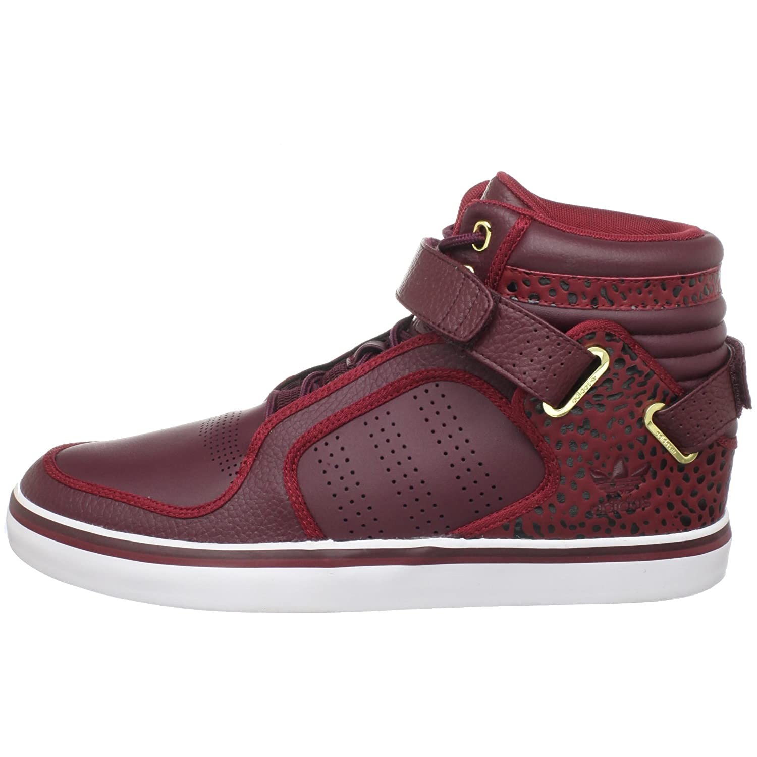 sneakers for cheap 3b278 a83fc Amazon.com  adidas Originals Mens adi-Rise Mid Sneaker, Light  MaroonCardinalWhite, 4 M US  Fashion Sneakers