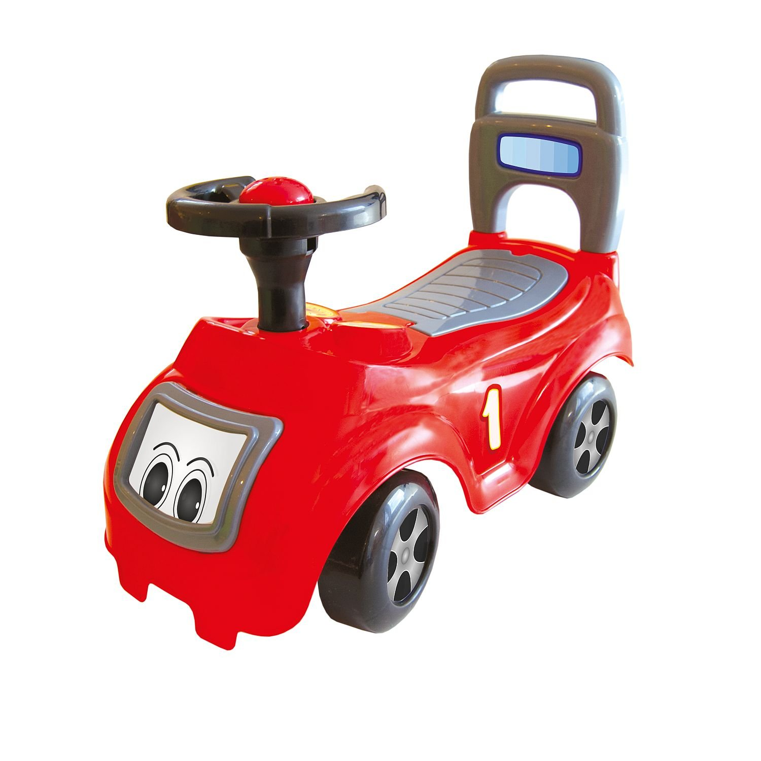 Dolu 10035309 - Baby-Slider Sit'n Ride, Approx. 50 x 38 x 64.5 cm, Red