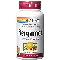 Solaray Bergamot Advanced Formula, Cardiovascular Support Fruit Extract, Veg Cap (Btl-Plastic) 500mg | 60ct