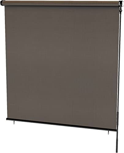 Radiance 0371648 Cordless Exterior Solar Shade Coconut Brown