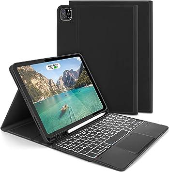 Jelly Comb Funda con Teclado Trackpad para iPad Air 10.9