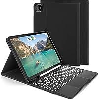 """Jelly Comb Funda con Teclado Trackpad para iPad Air 10.9"""" 2020 (4.a generación)/iPad Pro 11 2020/2018 (1.ª y 2…"""