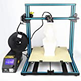 "3D Printer CR 10 0.1mm 15.8"" x 15.8"" x 15.8"" DIY Self-assembly Desktop Kits Industrial Grade PLA Free Testing Filament+Free Tool Set Blue"