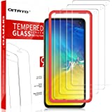 [4 Pack] QITAYO Screen Protector for Samsung Galaxy S10e, HD-Clear [Bubble-Free][Case Friendly] [Alignment Frame] Tempered Glass Screen Protector Compatible with Galaxy s10e