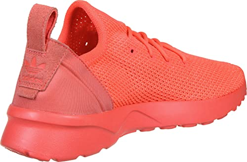 5e98cd3b1 adidas Womens Originals Womens ZX Flux ADV Virtue Trainers in Coral - UK 4