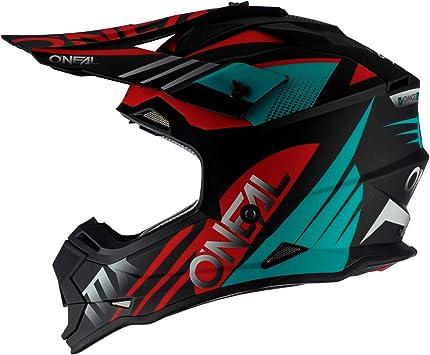 0200-S13 Oneal 2 Series RL Slick Motocross Helmet M Black Grey