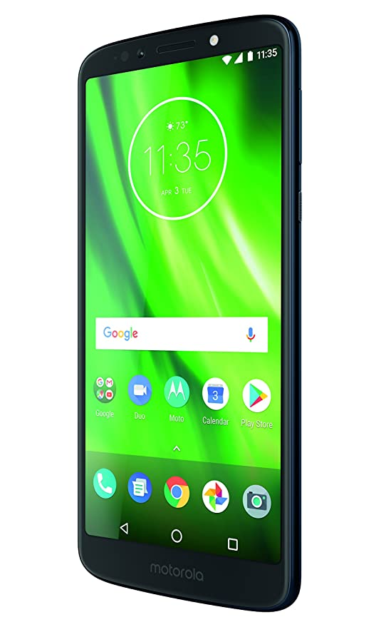 motorola moto g6 Play 5 7-Inch Android 8 0 Oreo SIM-Free Smartphone with  3GB RAM and 32GB Storage (Dual Sim) - Deep Indigo (Exclusive to Amazon)