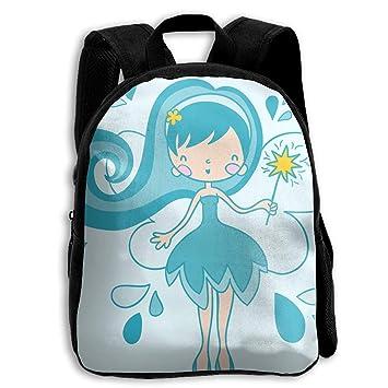 DaXi1 Magical Fairy (3) Mochilas Personalizadas para niños preescolares, Bolsa de Regalo: Amazon.es: Hogar