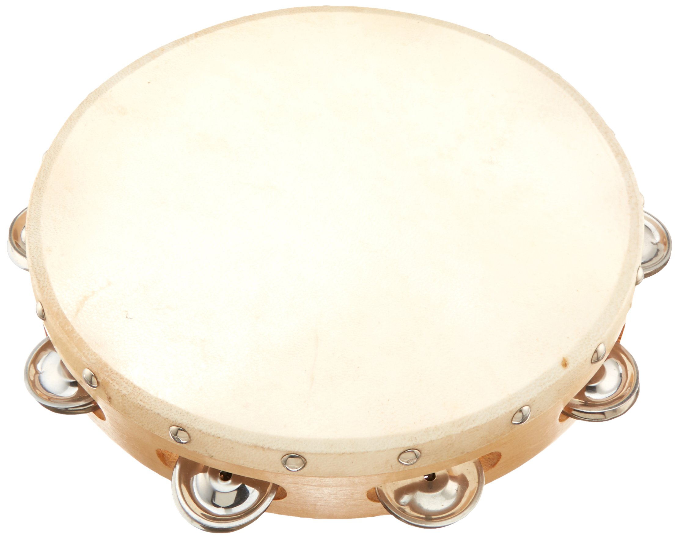 HW Products T10H 10In. Single Tamborine by HW (Image #1)