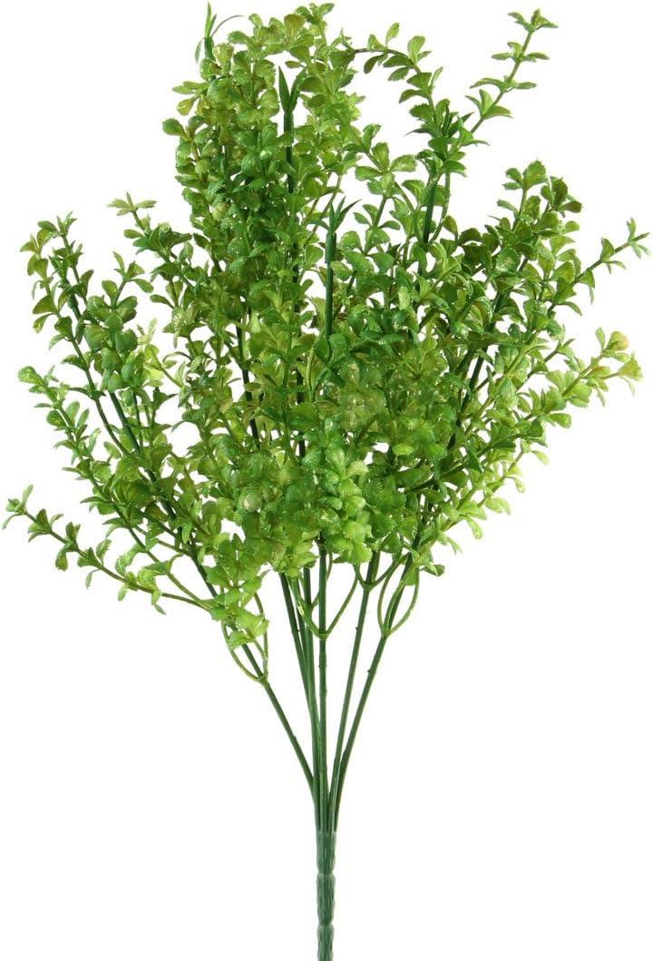 "Renaissance 2000 Wild Box Wood Artificial Flower, 16"" x 1"" x 16""/Mini, Green"