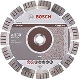 Bosch 2 608 602 683  - Disco de corte de diamante Best for Abrasive - 230 x 22,23 x 2,4 x 15 mm (pack de 1)