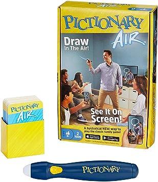Mattel Games Pictionary Air Juego de Dibujo Familiar, Enlaces a ...
