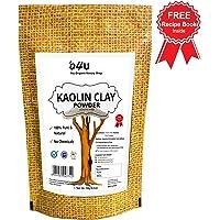 100% Natural, Pure O4U Organic Kaolin Clay Powder for Face, 250g